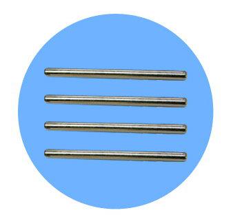 GLOBE DT-368R A4二層文件盤駁柱(4支裝)