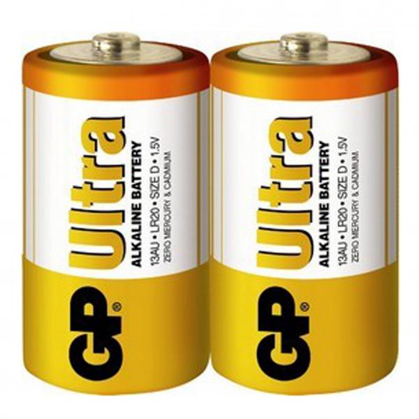 GP 特強鹼性電池D 2粒收縮裝