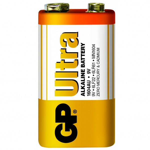 GP 9V 電池(工業裝)