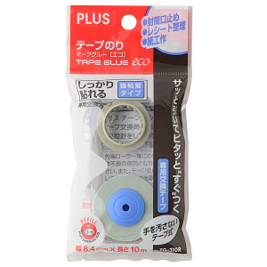 PLUS TG-310R 雙面膠紙機替芯 8.4MM X 10M