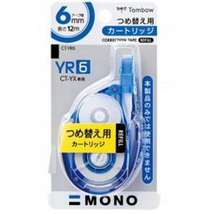 TOMBOW YR 系列改錯帶替芯(12m) 4.2mm,5mm,6mm
