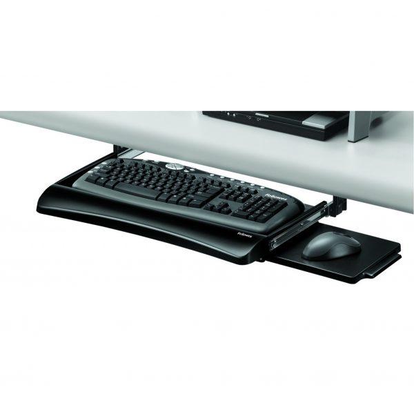 Fellowes FW91403 鑽檯式可調較鍵盤托