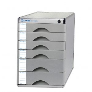 Globe GA400(ML)鋁質有鎖桌上A4文件櫃