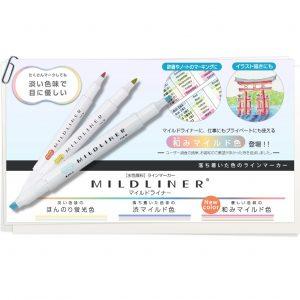 ZEBRA MildLiner WKT7 雙頭螢光筆