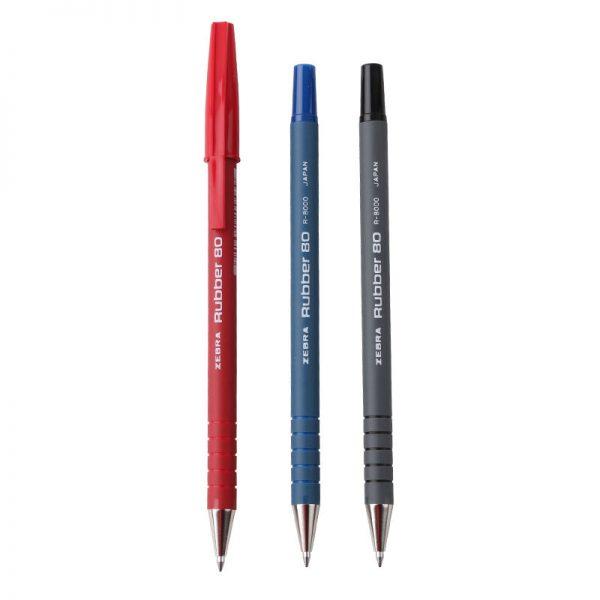 ZEBRA R8000 橡膠安全原子筆