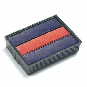 SHINY S-303-7 回墨印章替換印台(藍色+紅色)