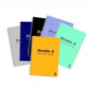 Double A 線圈單行簿(80頁) - A5